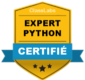 Certification Expert Python