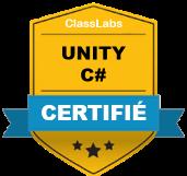 Certification Développeur Unity et C#